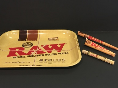 Raw Tray- $24.99 Cones- $3.99- $6.99 Rolling mat- $1.49